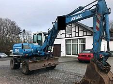 Колесный экскаватор Atlas 1104. 4х4. Год 2001. 14 тн. Моточасов 5400! Кишинёв мун.