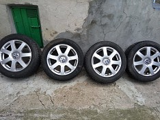 отдаю диски с шинами r16 volkswagen Чадыр-Лунга