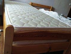 Продам деревянную кровать с новым матрасом Кишинёв мун.