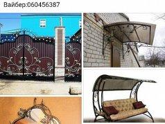 Сварка перил, ворот, заборов, декораций для дома Edineț