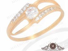 """Золотое кольцо """"Омут"""". Артикул I-0088 Бельцы мун."""