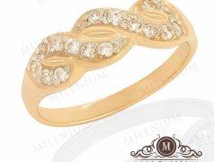 "Золотое кольцо ""Pigtail"". Артикул I-0057 Бельцы мун."