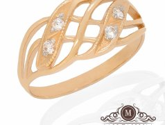 "Золотое кольцо ""Grid"". Артикул I-0064 Бельцы мун."