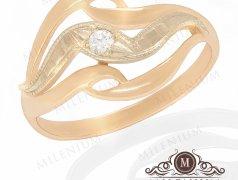 """Золотое кольцо """"Beauty"""". Артикул I-0070 Бельцы мун."""