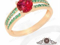 Золотое кольцо. Артикул I-0028/(5-6) Бельцы мун.