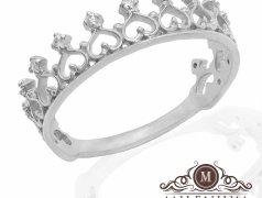 Серебряное кольцо. Артикул I-0038S Бельцы мун.