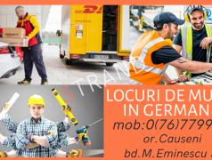 Contrac de muncă gratuit în Germania Chișinău mun.