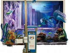Робот художник нанесет любой рисунок на стену доставка из г.Кишинёв мун.