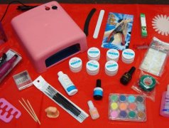 Set kit unghii gel, lampa uv/freza electrica,primer,top coat,lipici,pensule,pile,sclipici,margareta Кишинёв мун.