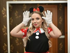 Minnie și Mickey mouse by Color Party Кишинёв мун.