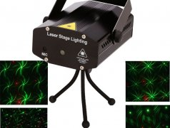 Mini laser stage lighting yx-09 Кишинёв мун.