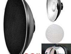"""Beauty dish with grids for Elinchrom Pro 22"""" Кишинёв мун."""